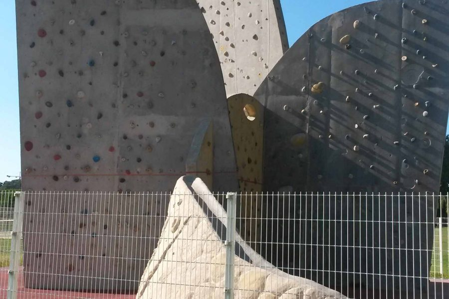 Mur d'escalade du Val de l'Arc