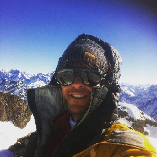 Yo au sommet du Vieux Chaillol