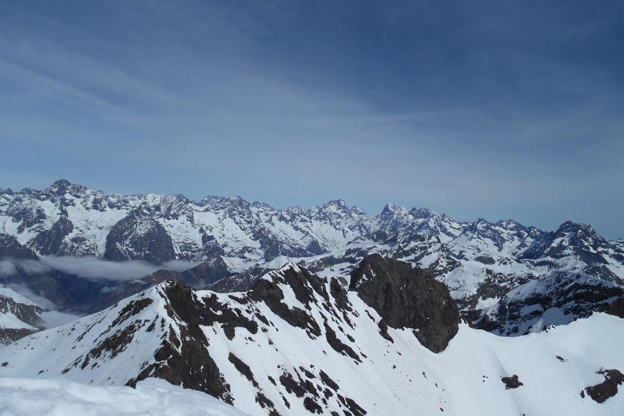Ski de rando au Vieux Chaillol 3163m