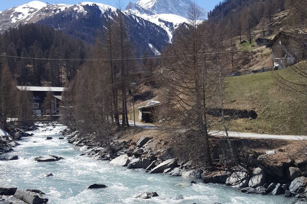 Le Cervin vu de Zermatt