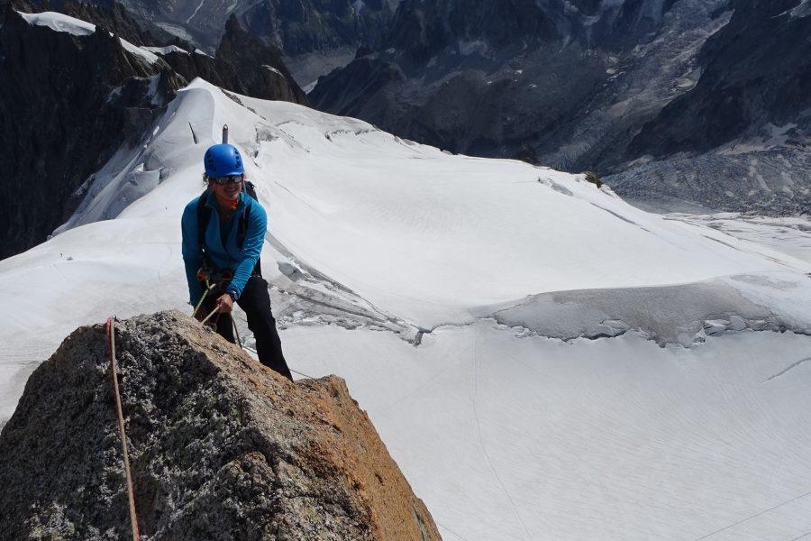 Aiguille du Midi – Voie Rébuffat Baquet