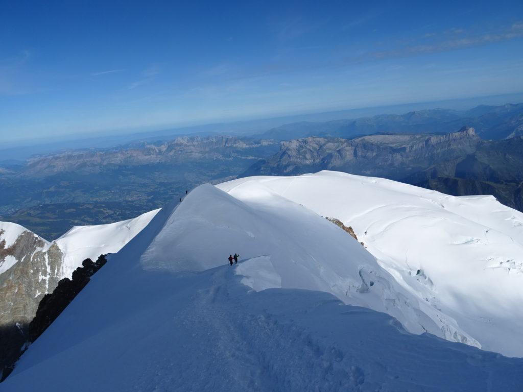 Arête du Mont Blanc